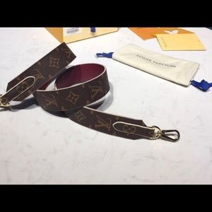 Louis Vuitton bag straps